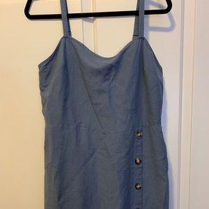 Express Blue Tank Dress